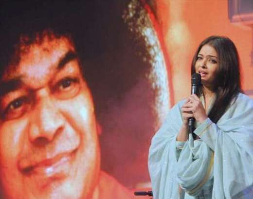 Aishwarya Rai and Sri Sai