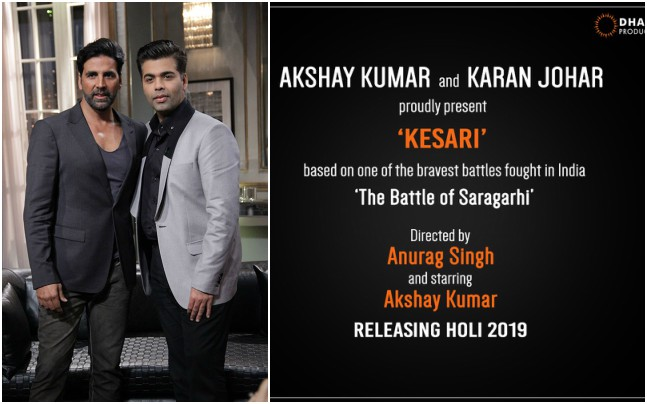 Akshay Kumar upcoming movies - Kesari
