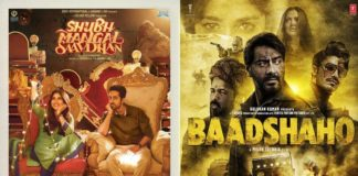 Shubh Mangal Saavdhan, Baadshaho Second Weekend Collection