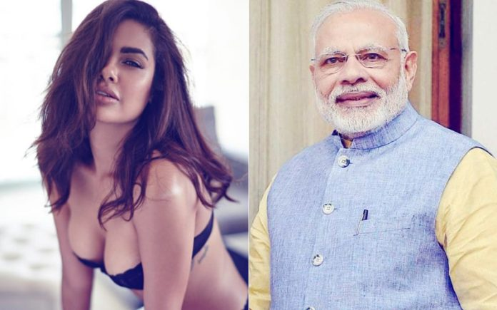 Esha Gupta asked for help from PM Modi
