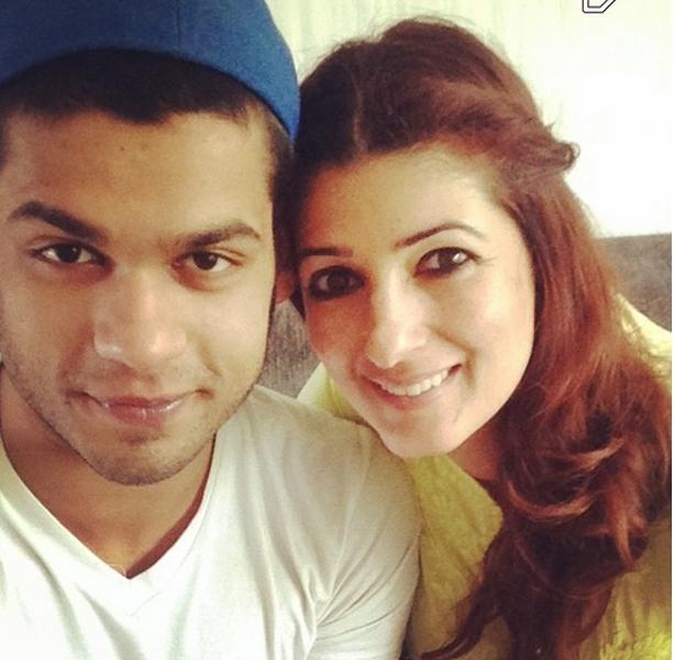 Karan Kapadia and Twinkle Khanna