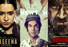 bhoomi, haseena parkar, newton first week collection