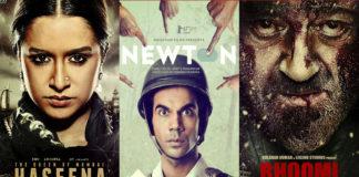 bhoomi, haseena parkar, newton first week collection