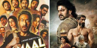 Bahubali 2 and Golmaal Again are the top opening weekend grossers 2017