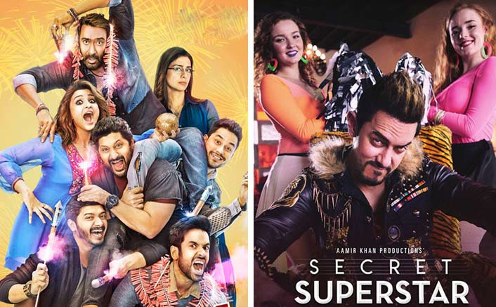 Golmaal Again Vs Secret Superstar Box Office: Ajay Devgn's Film Takes A Huge Lead Over Aamir Khan's Secret Superstar