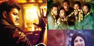 Golmaal Again Vs Secret Superstar Vs Mersal