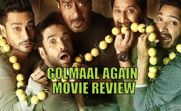 Golmaal again movie review in hindi