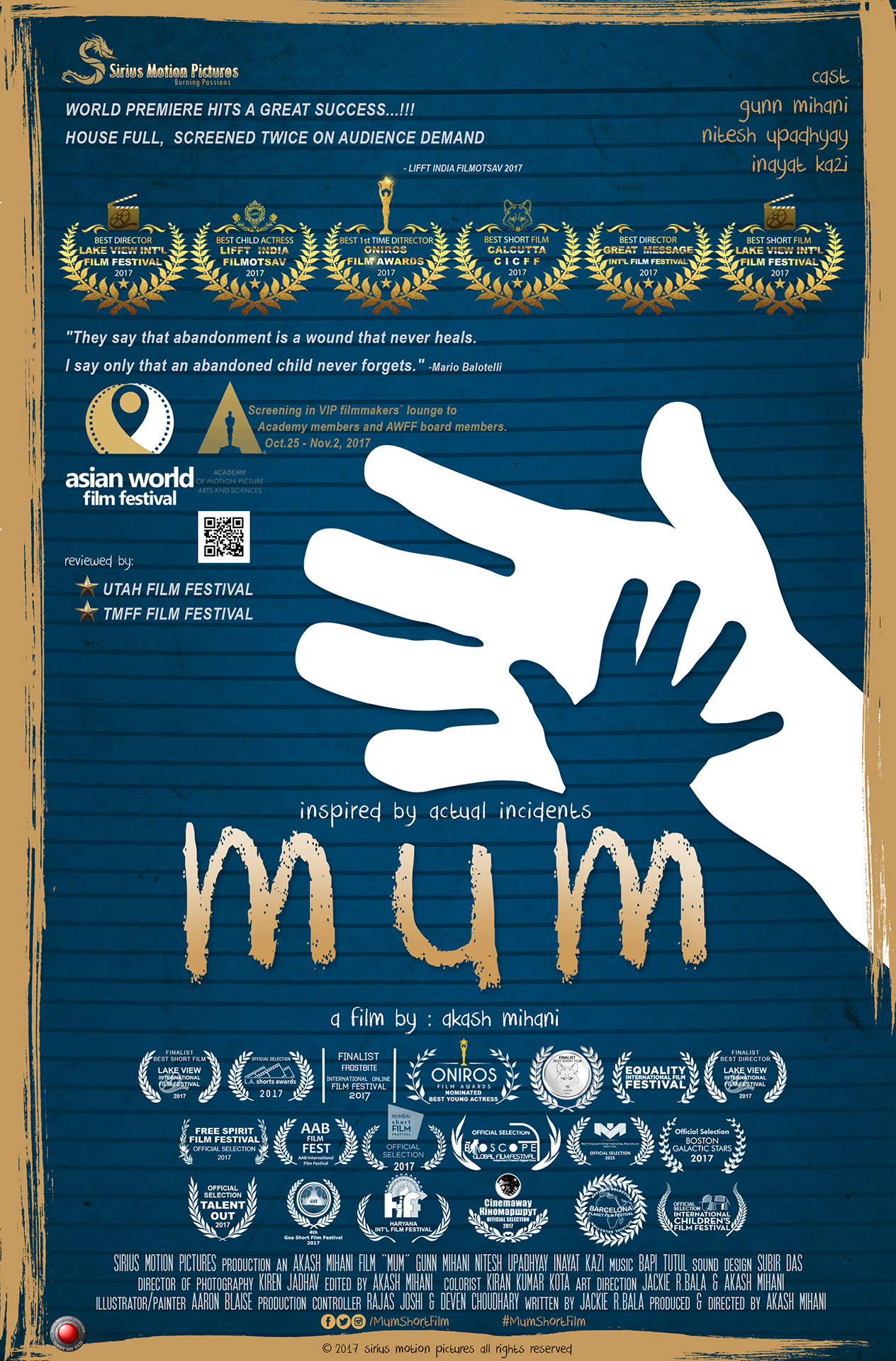 Mum Poster AWFF Academy Attach