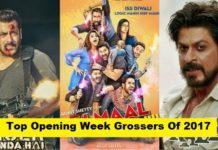 Top Opening Week Grossers Of 2017 - Bahubali 2, TZH and Golmaal Again
