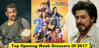 Top Opening Week Grossers Of 2017 - Bahubali 2, TZH and Golmaal Again