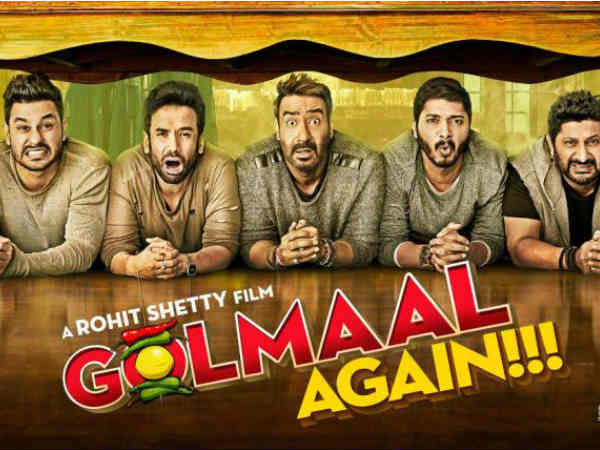 Golmaal Again is Ajay Devgn's second highest grossing movie