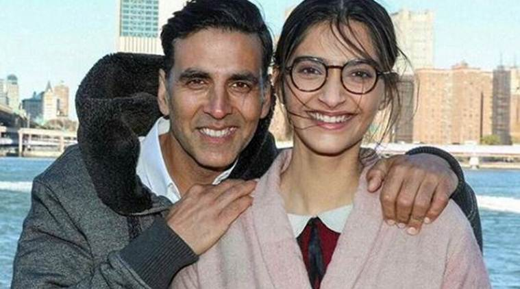 Pics: Akshay Kumar and Sonam Kapoor Shoot for Padman in New York
