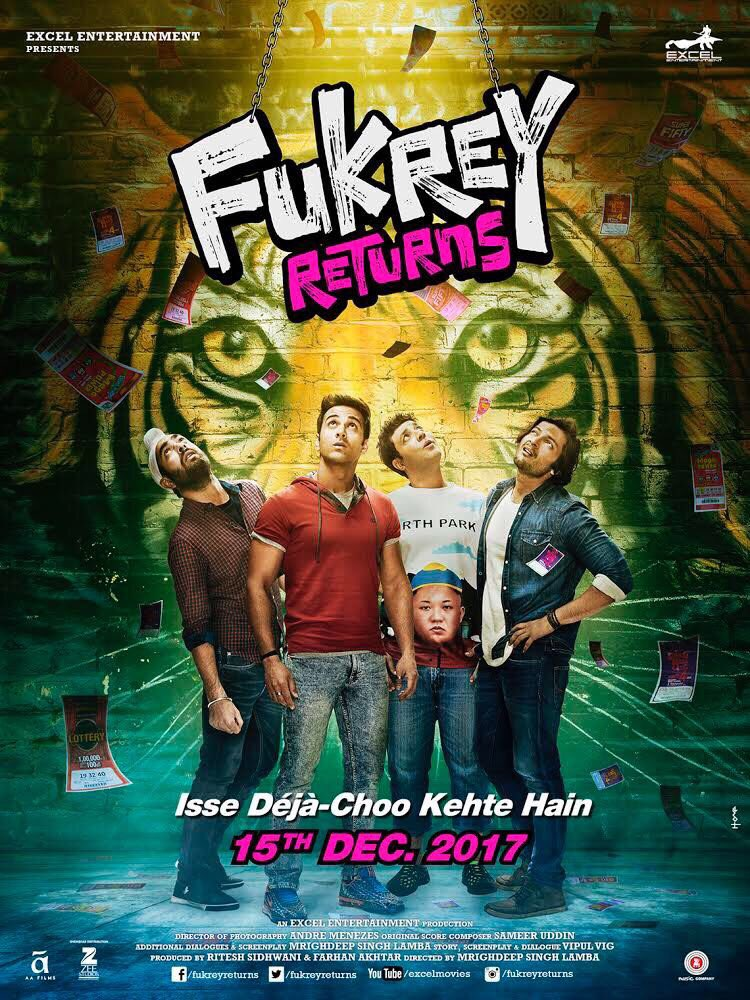 Fukrey Returns Release Date Postponed To 15 Dec 2017