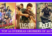 Highest overseas grossers of 2017- Raees, Tiger Zinda Hai and Jab Harry Met Sejal