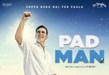 New poster of padman - Akshay Kumar is a Superman