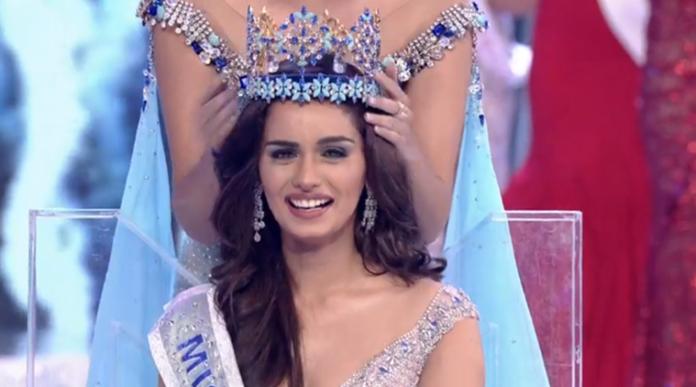manushi chhillar won miss world 2017