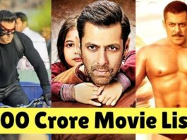 Salman Khan's 100 Crore Movies List