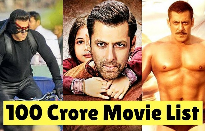 Salman Khan's 100 Crore Movies List