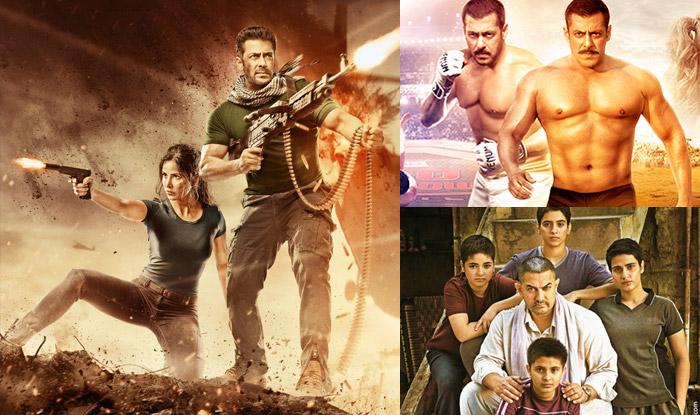 Tiger Zinda Hai Vs Dangal Vs Sultan Box Office Collection Comparison