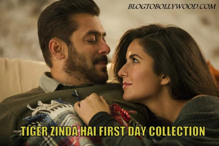 Tiger Zinda hai 1st day collection report