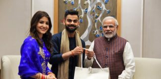 Virat, Anushka and PM Modi