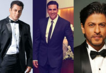 Three khans and Akshay in 2018
