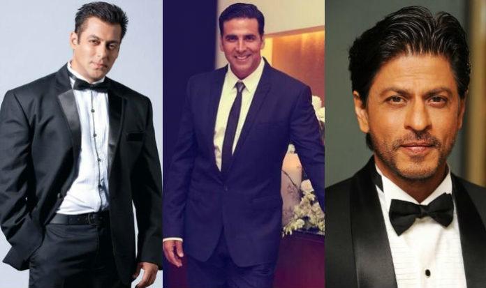 Three khans and Akshay in 2018