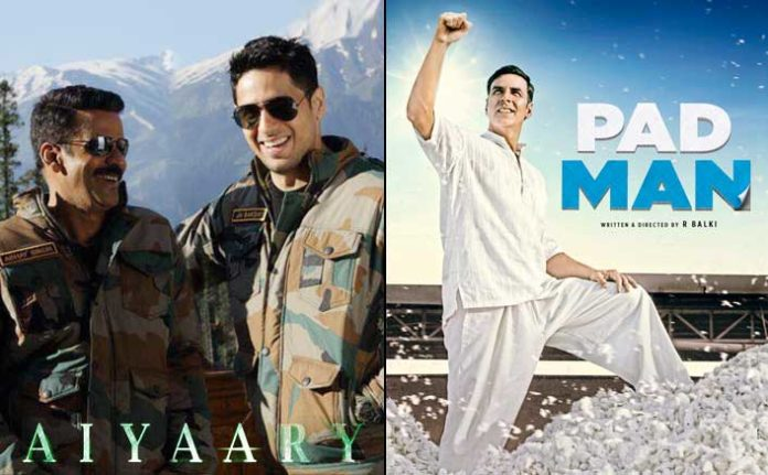 Padman 9th Day, Aiyaary, Black Panther 2nd Day Collection And Lifetime Prediction