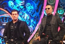 Pad Man Akshay Kumar and Dabangg Salman Khan For Bigg Boss 11 Finale