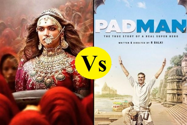 Official: It's Padman Vs Padmavat On 25 Jan 2018 At The Box Office