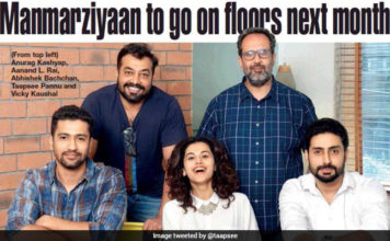 Anurag Kashyap's Manmarziyaan Starcast: Abhishek Bachchan, Taapsee and Vicky Kaushal To Lead