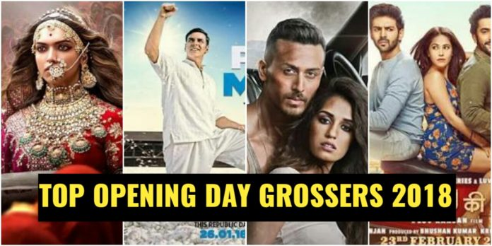 Top Opening Day Grossers Of 2018, Highest Opening Day Collection Bollywood 2018