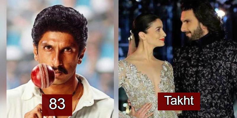 Ranveer Singh's Upcoming Movies