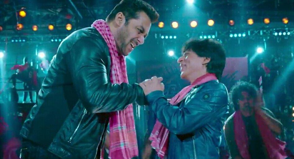 Both the superstars were seen together in Eid teaser