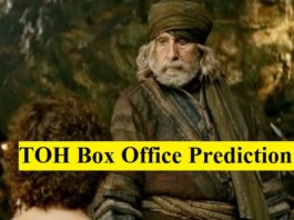 Thugs of Hindostan Box Office Prediction