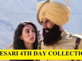 Kesari 4th Day (Sunday) Collection: Good Extended Opening Weekend