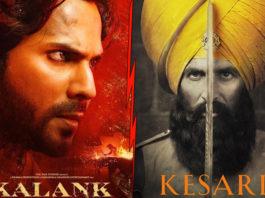 Kalank Beats Kesari To Register The Highest Opening Day Of 2019