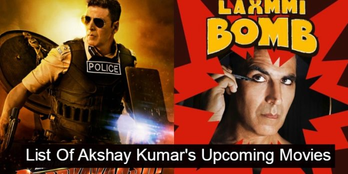 Akshay Kumar Upcoming Movies 2019, 2020 With Release Date, Star Cast & Other Details