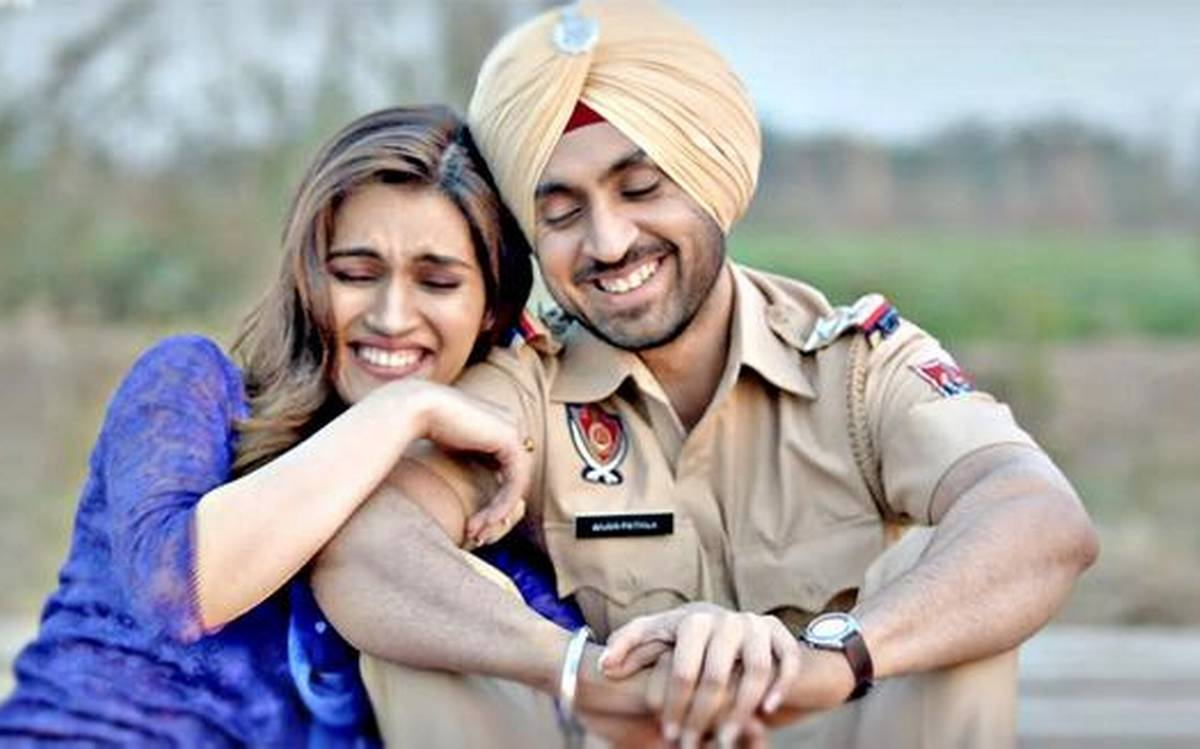 Kriti Sanon and Diljit Dosanjh