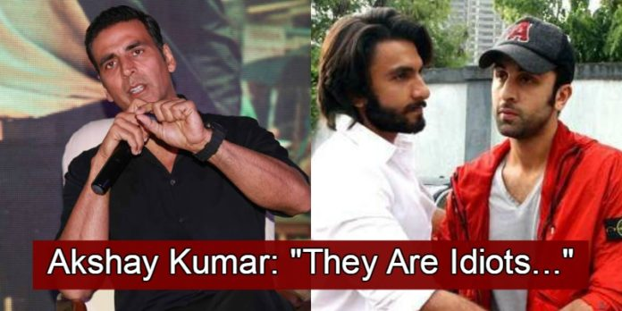 Akshay Kumar Takes A Dig At Other Actors And Calls Them