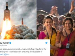 Bollywood reacts to Chandrayaan2