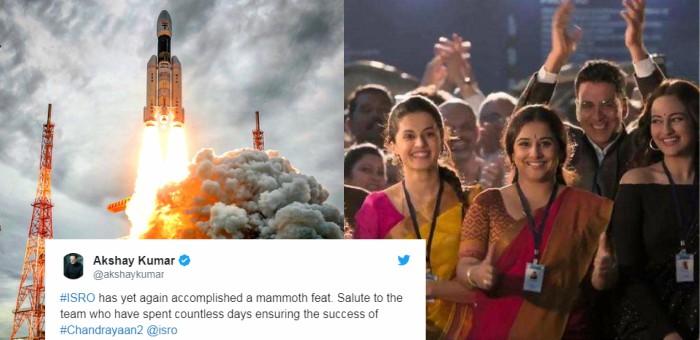Bollywood reacts to Chandrayaan2