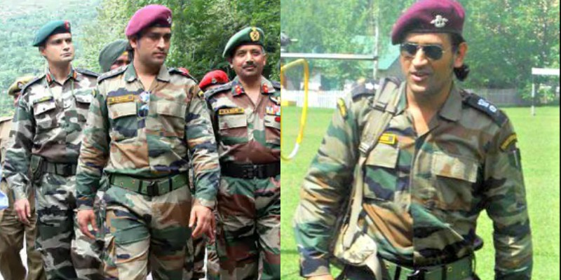 Lt.Colonel MS Dhoni