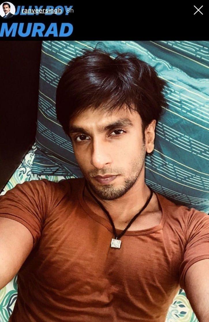 Ranveer Singh posts selfies