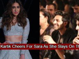 Karthik Aryan Spotted Cheering For Sara Ali Khan