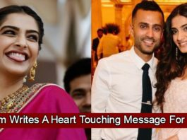 Sonam Kapoor Writes A Heart Touching Message For Husband Anand Ahuja On His Birthday