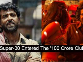 Hrithik Roshan Strikes Back As 'Super 30' Enters 100 Crore Club