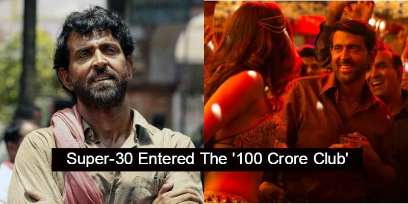 Hrithik Roshan Strikes Back As 'Super 30' Enters 100 Crore Club