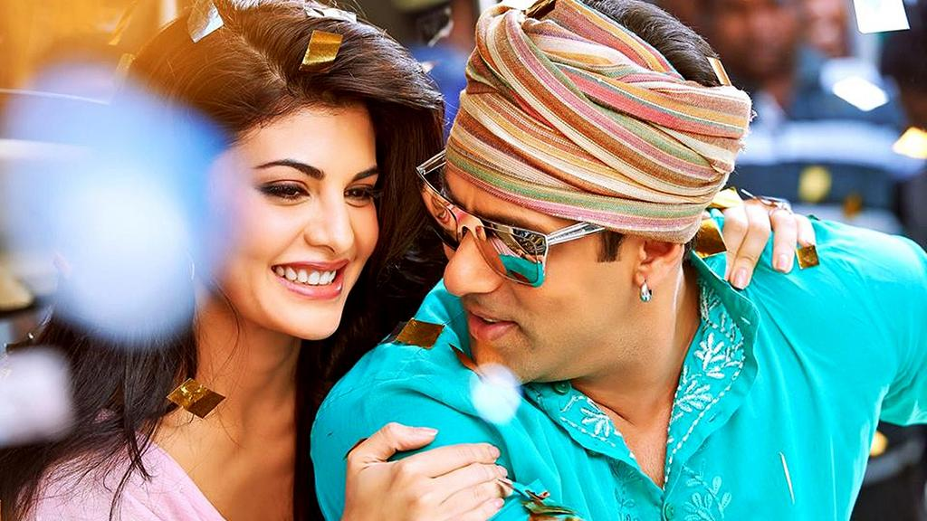 Salman And Jacqueline In A Still From Kick