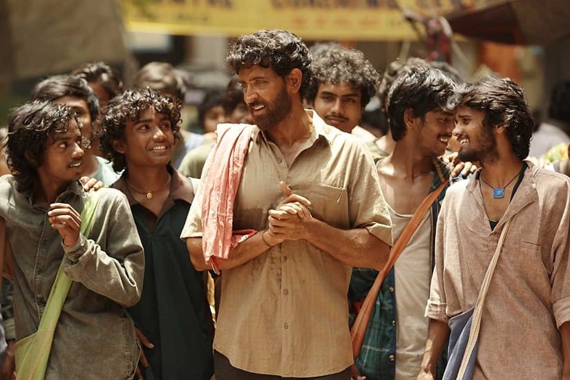 Hrithik Roshan in a still from Super-30
